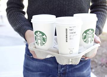 REWE und Starbucks werden Partner
