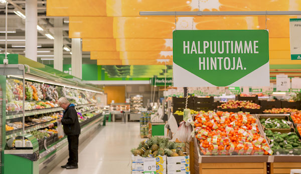 S Group's grocery trade volumes increased due to lower price policy introduced at the beginning of the year