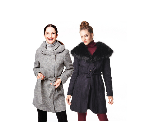 Shop Macy's and macys.com on Black Friday for spectacular doorbusters including women's wool and down coats, 60% off. (Photo: Business Wire)