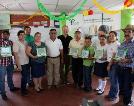 Starbucks Foundation contributes $300,000 to support Seeds for Progress Foundation's Digital Seeds program in Nicaragua