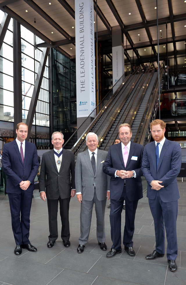 "The tallest building in The City of London ""The Leadenhall Building"" opens; joint development by British Land and Oxford Properties"