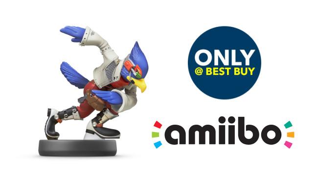 amiibo fans can pre-order Nintendo's Falco amiibo only on BestBuy.com