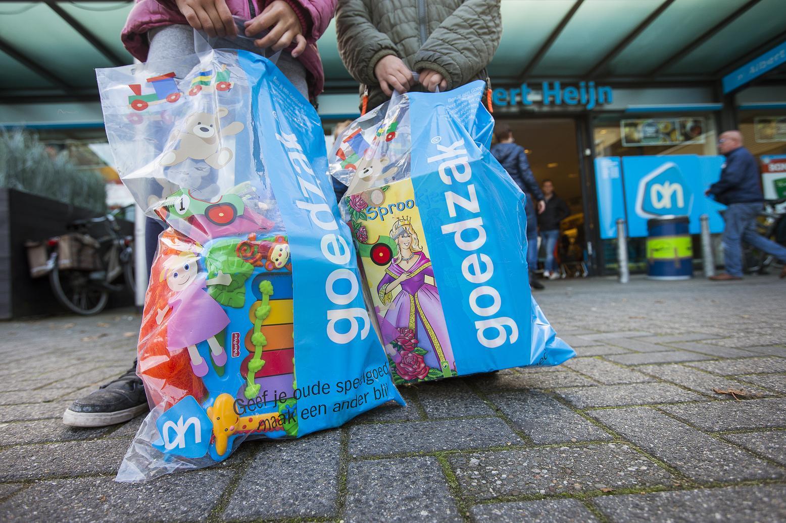 Albert Heijn en Goedzak® organiseren speelgoedinzamelingsactie voor lokale goede doelen