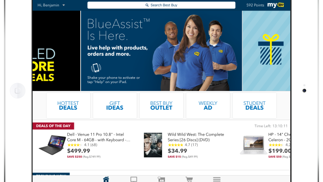 Best Buy launches enhanced Best Buy mobile app for iPad