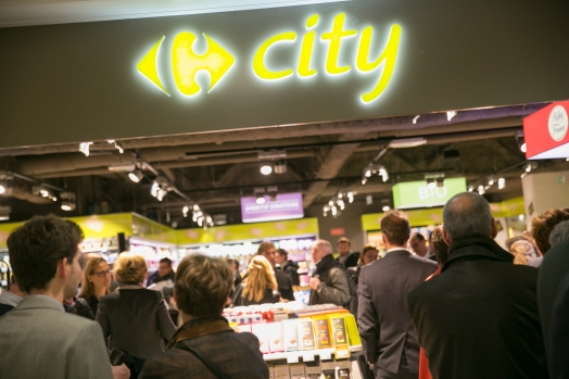 Carrefour: The very first City convenience store opens at Aéroports de Paris
