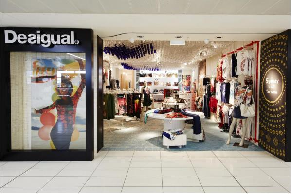 Desigual opens at Sydney Airport's Terminal 2 in partnership with Lagardère Travel Retail