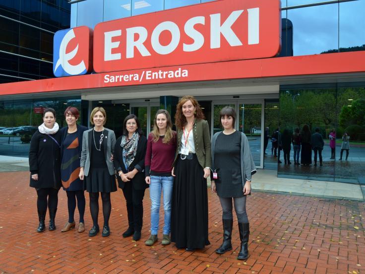 Foro para la Igualdad entre Hombres y Mujeres de Emakunde, Instituto Vasco de la Mujer: El 78% de la plantilla de EROSKI está formado por mujeres