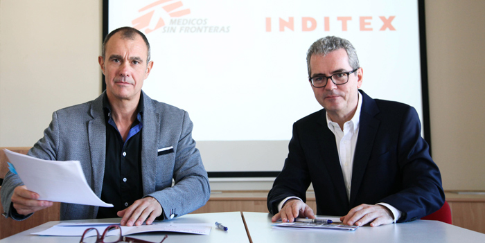 Inditex to allocate EUR 2.3 million to four humanitarian initiatives by Doctors Without Borders in 2015