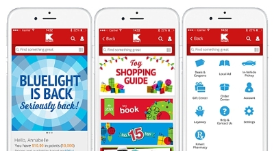 Kmart refreshed its mobile app in time for the Holidays