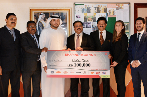 LuLu Group donated AED 100,000 to Dubai Cares for proper children education