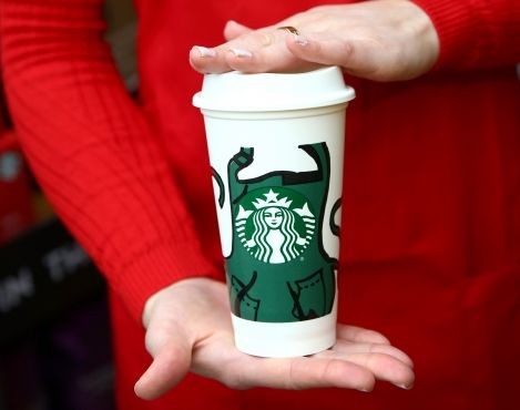 Partners in 7,000 company-owned Starbucks stores in U.S. to receive reusable cup featuring Lauren Button's artwork