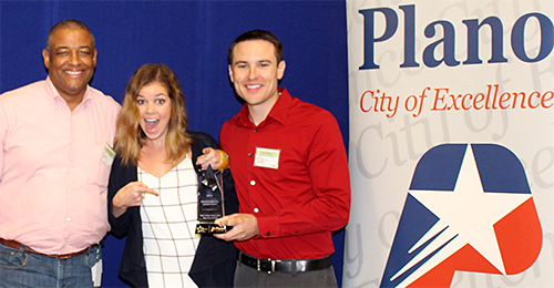 Pizza Hut Corporate awarded Environmental Star of Excellence Award by City of Plano, TX