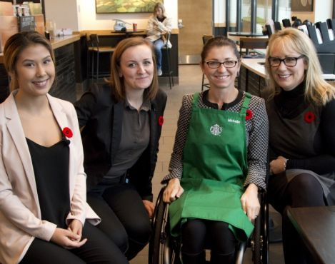 Starbucks Canada commits 10 percent of all store new hires to Opportunity Youth