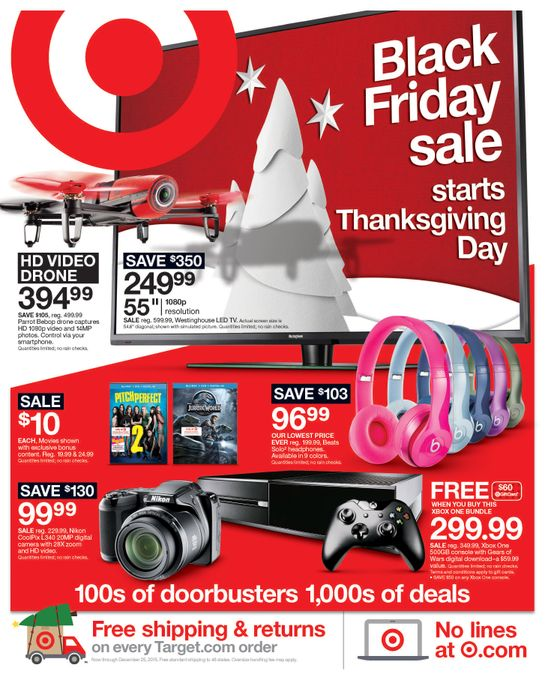 Target's strategy for Black Friday: deep daily discounts on electronics, kitchenware, toys and more from Nov. 22 through Dec. 1