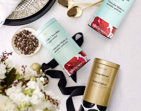 Teavana unveils its 2015 Holiday Collection of more than 80 epicurean tea gifts