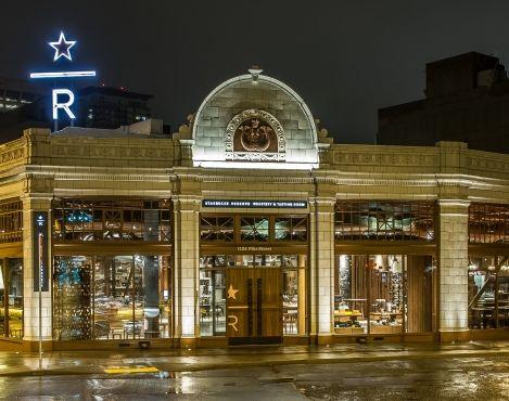The Starbucks Reserve Roastery and Tasting Room awarded LEED® Platinum certification