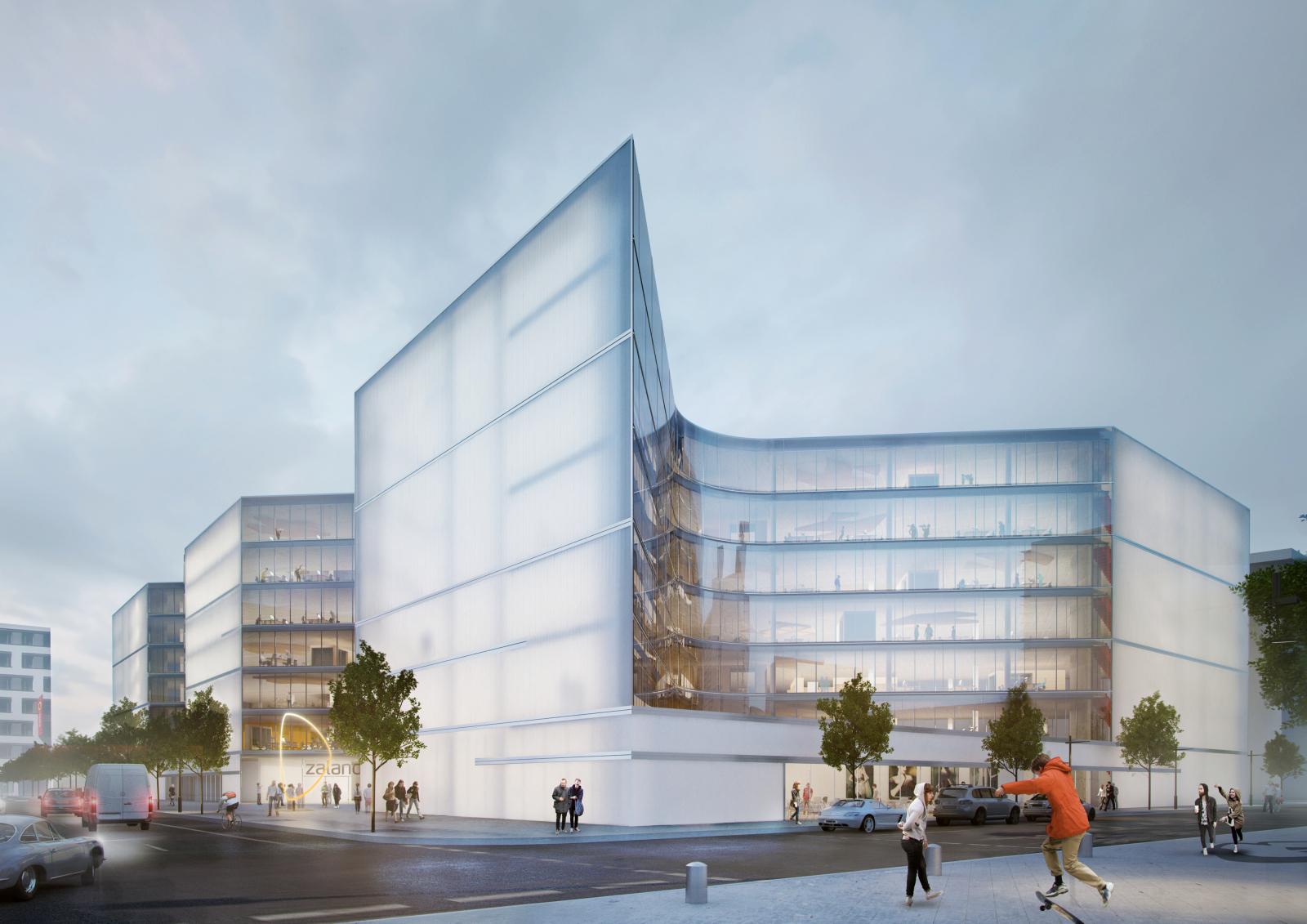 Zalando to open its office campus in the Berlin district Friedrichshain/ Kreuzberg in 2018