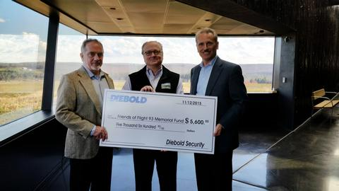 Diebold helps Friends of Flight 93 National Memorial educate future generations about Flight 93 and September 11, 2001