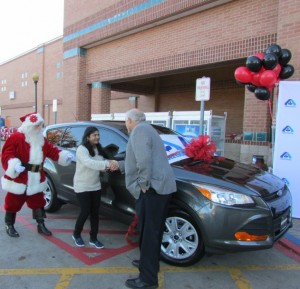 Albertsons awarded Kalyani Namilikonda with brand new 2016 Ford Escape as the winner of its Best Road Trip, Ever! Sweepstakes