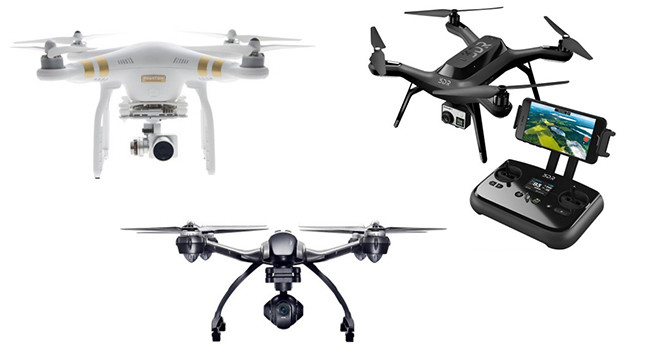 Best Buy's Drone Selection for the holidays: dozen different drones in stores and nearly 40 models online