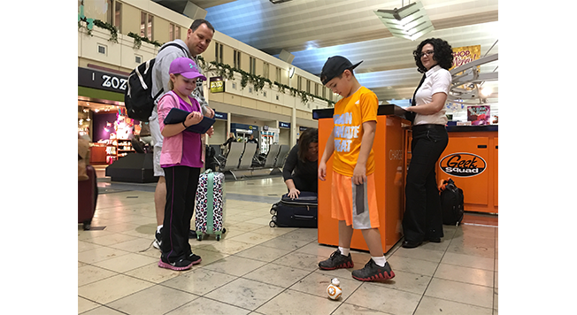 Best Buy: Geek Squad Pop-Up at Minneapolis-St. Paul International Airport for a weeklong Tech experience for travellers