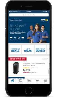 Best Buy adds new live-chat feature within its mobile app