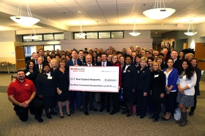 CVS Health CEO Larry Merlo announced $1.3m donation to support dozens of charities across Rhode Island and southeastern Massachusetts
