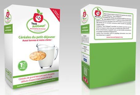 """Carrefour and the Gueules Cassées collective introduced new brand """"Tous AntiGaspi"""" to tackle food wastage"""
