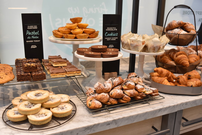 Costa opened its first food-led concept store Costa Fresco in London