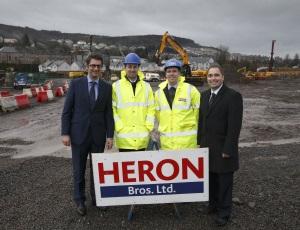 Ediston Real Estate: Port Glasgow Retail Park's second phase of construction work has begun