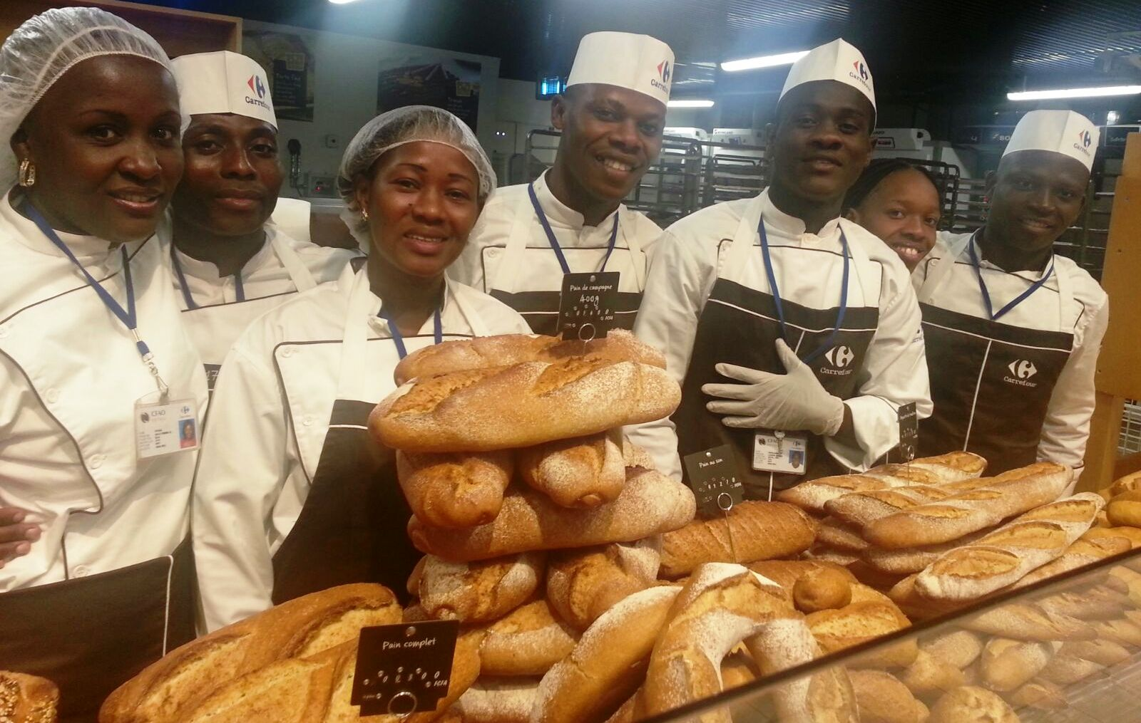 First Carrefour hypermarket opened in the Ivory Coast in Abidjan
