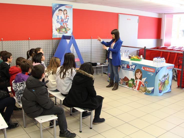 """Fundación EROSKI: 512 centros escolares se han inscrito al programa """"Programa Educativo en Alimentación y Hábitos de Vida Saludables"""""""