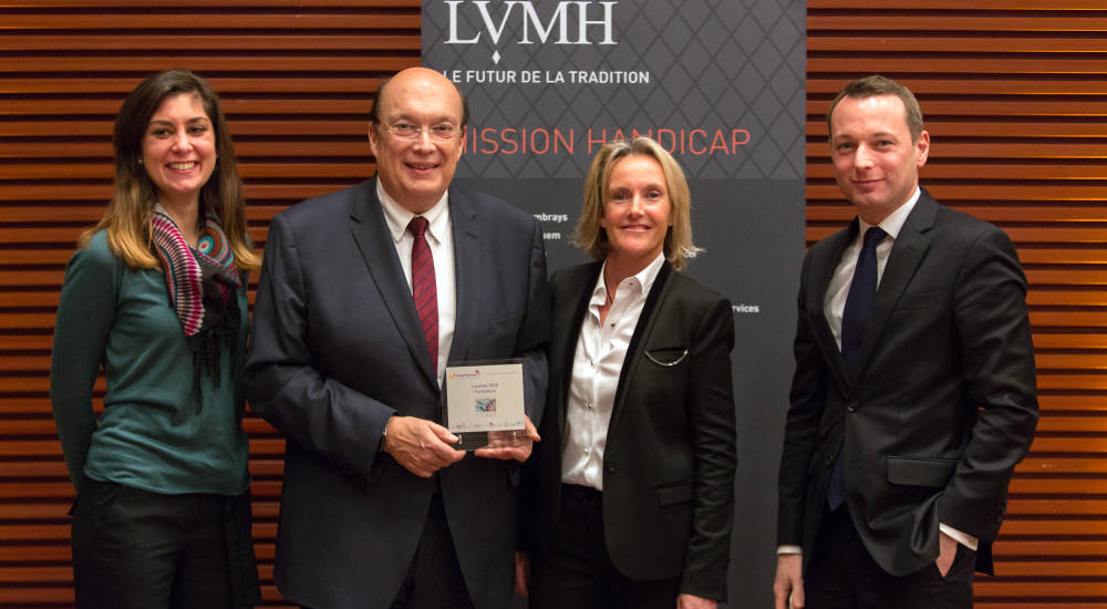 LVMH Group raises awareness among staff of its commitment to employing and retaining people with disabilities