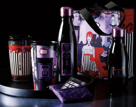 Starbucks and fashion designer Anna Sui partner to create limited-edition merchandise for the holidays