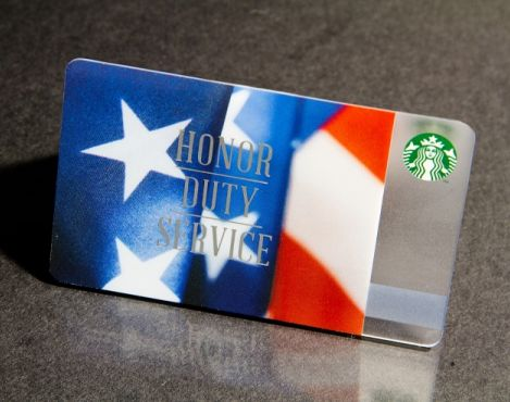 Starbucks and its customers raised $455,000 for USO (United Service Organizations)