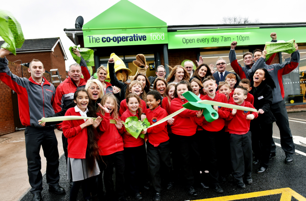Co-op opens new food store in Huntington