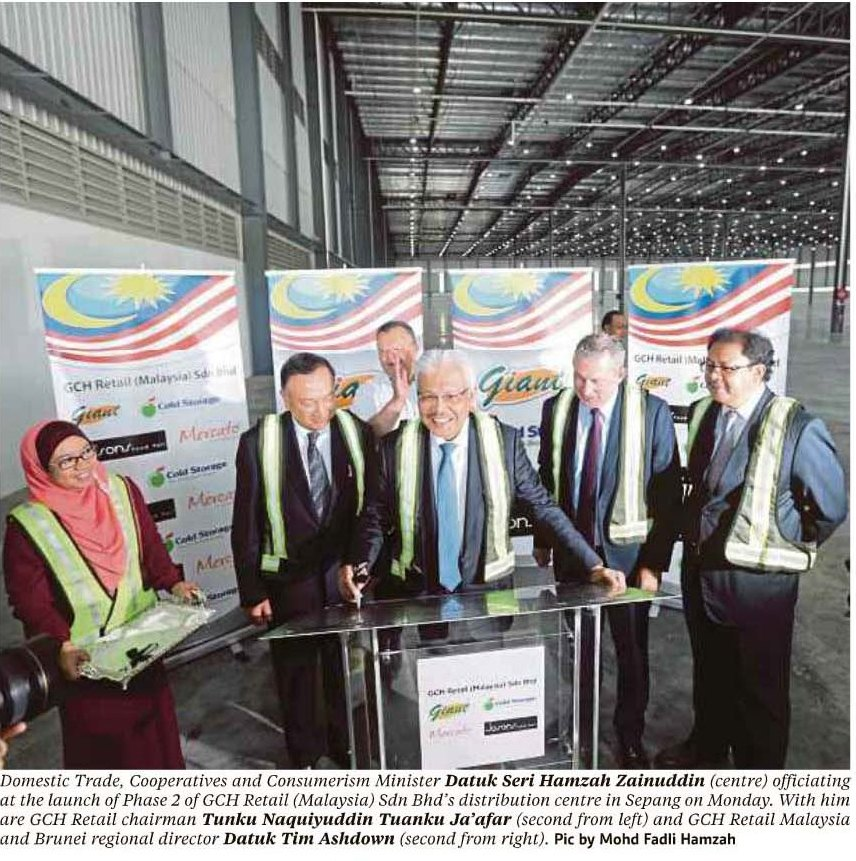 GCH Retail (Malaysia) expands its distribution centre to support export to Singapore and Cambodia