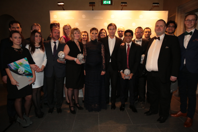 H&M Conscious Foundation: HRH Crown Princess Victoria of Sweden awarded the winners of the first Global Change Award