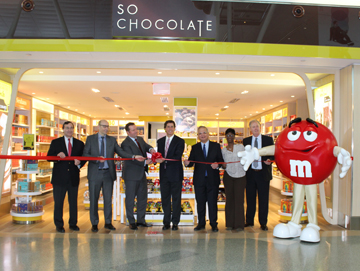 Paradies Lagardère opens So Chocolate! and The Scoreboard at John F. Kennedy International Airport's Terminal 4