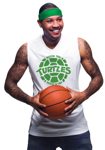Macy's has partnered with Nickelodeon and Carmelo Anthony to introduce TMNT x Melo, available exclusively at Macy's stores and on macys.com in early May. (Photo: Business Wire)