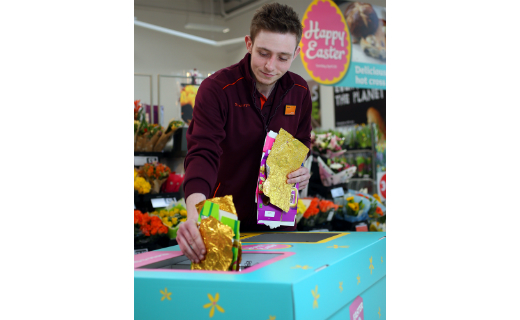 Sainsbury's launches nationwide recycling service for Easter egg packaging