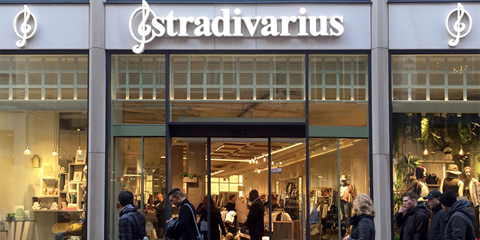 Stradivarius opens its first physical store in Amsterdam