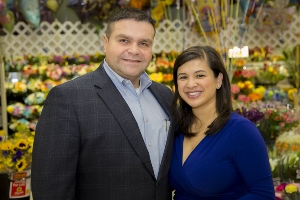 With His Wife At Their ShopRite Of Passaic/Clifton.  Wakefern Portal