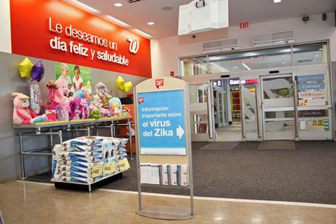 Walgreens donates $100,000 to CDC Foundation to aid its Zika virus education and prevention efforts in Puerto Rico
