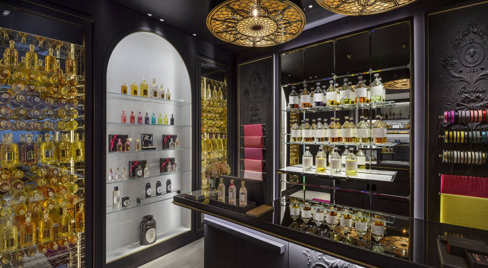 Guerlain opens new boutique dedicated exclusively to perfumes