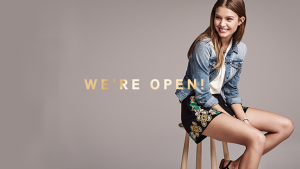H&M's Shop Online welcomes Japanese customers