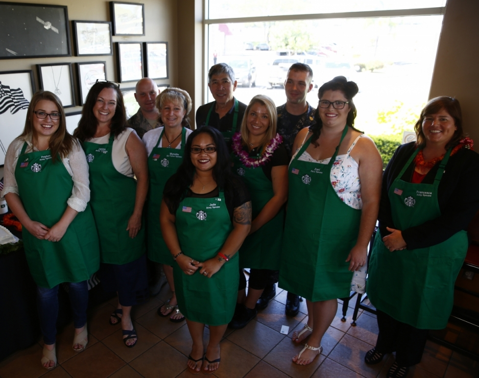 Partners at the Honolulu Starbucks stores will collaborate with Mission Continues, Team Red, White & Blue and Blue Star Families