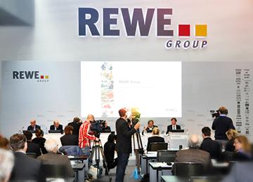 REWE-Konzern steigert Umsatz um 4,1 Prozent auf 43,7 Milliarden Euro