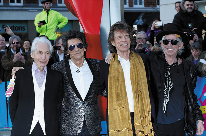 Tommy Hilfiger attended the opening of EXHIBITIONISM – The Rolling Stones' first international exhibition