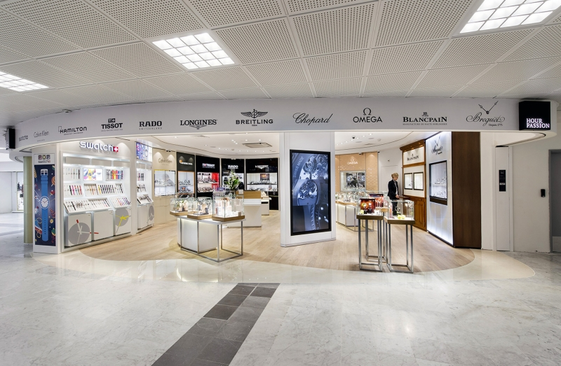 HOUR PASSION opens its latest concept in Nice Côte d'Azur airport